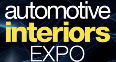 Automotive Interiors EXPO  November 10, 11, 12,  2020